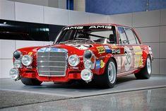 """Fotogalerie: Mercedes 300 SEL 6.8 AMG """"Rote Sau"""""""