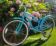 "Sixthreezero Teal 3 speed Women's 26"" Beach cruiser bike"