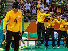 Jogadores da seleção brasileira durante a partida pelo bronze em Rio 2016