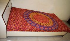 Twin Indian Mandala Tapestry Bedspread Hippie Bohemian Wall Hanging Decor Throw #Unbranded #CottonPrinted