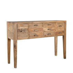 Modern Mango Console Table 53 inches