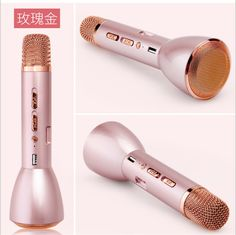 >> Click to Buy <<  Bluetooth Wireless Microphone with Mic Speaker Condenser Mini Karaoke Player KTV Singing Record for Smart Phones Computer K068 #Affiliate