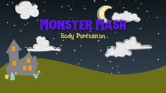 Halloween Videos For Kids, Halloween Music, Halloween Gif, Halloween Ideas, Music Activities, Reading Activities, Art School, School Stuff, Monster Mash