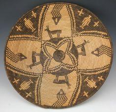 baskets of native americans   Apache Native American Indian Baskets, - Yavapai Figurative Basket ...