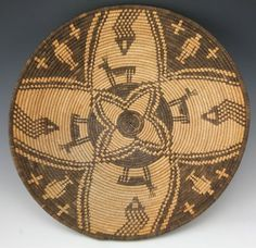 Coiled Basket by Lucy Telles [Native American artist] Collection ...