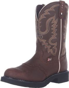 Amazon.com: Justin Boots Women's Gypsy Boot,11 Inch Aged Bark,6.5 B US: Shoes