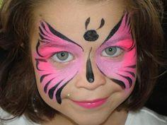 Siga todos os passos corretamente para sua pintura no rosto infantil