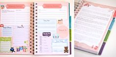 The Nanny Notebook. Cute way to look back when baby is older to see how they change!