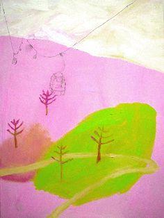 Katja Tukiainen, Luzern, Oil on wood, 2005