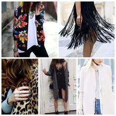 Quer arrasar neste inverno? Confira 5 tendências para acertar no look! #dicasdemoda #franjas #jaquetabomber #animalprint #slipdress #golaalta #golarulê