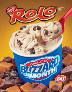 Dairy Queen : Rolo Blizzard