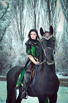 Lady Loki Wants Winter To Last Forever [Cosplay]