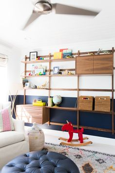 46 Marvelous Kids Storage Design Ideas With Wall System To Have - When you're a kid, it's hard to pick out the best design, home accessories or colors for your room. That's why it's best for parents to take control w. Kids Storage, Storage Design, Fireplace Built Ins, Studio Mcgee, Upstairs Bathrooms, Kid Spaces, Attic Spaces, Kids Bedroom, Kids Rooms