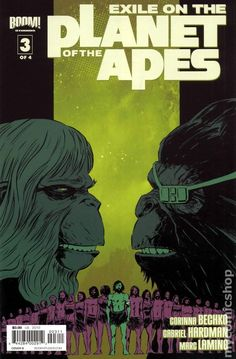Exile on the Planet of the Apes (2012 Boom) 3B Comic book covers
