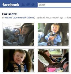 What To Do When You See Car Seat Misuse In a Friend's Photo