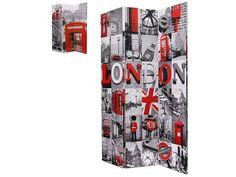Room Divider London Print - Nazanen Express