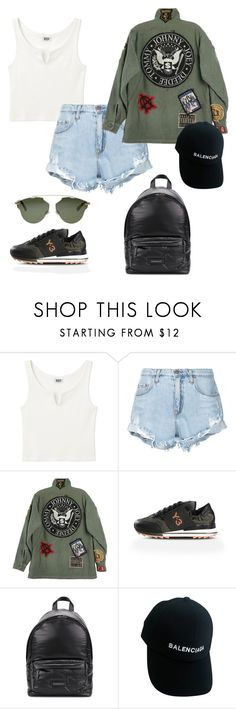 """Untitled #115"" by rahmadita14 on Polyvore featuring Nobody Denim, R13, Y-3, Givenchy, Balenciaga and Christian Dior"