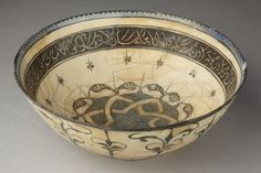 Bowl      Place of origin:      Kashan, Iran (probably, made)     Date:      13th century (made)     Artist/Maker:      Unknown (p...