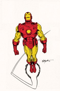 Classic Iron Man by spytroop.deviantart.com on @deviantART