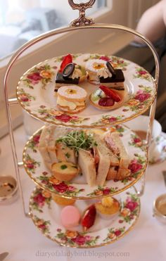"<3 Traditional ""High Tea"" Menu Fare . . . We Lived a Decade in Boston / Cambridge / Central Massachusetts, Our Many Favorite Afternoon Trips were to the Local Hotels Serving ""High Tea"" . . .Scrumptious Scones <3"