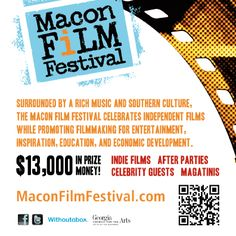Today is the late deadline for film submissions for #MaconFilmFestival. Final deadline is Oct 9.  To submit go to http://www.maconfilmfestival.com and click on Withoutabox logo