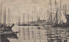 Glace Bay Harbour Pictured Way Back When, Glace Bay, Cape Breton