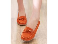 LEATHER FASHION SHOE ORANGE COLOR SIZE 35 SHIP WORLDWIDE HS123-9 โทรสั่งรองเท้าแฟชั่นที่ HTTP://WWW.LOTUSNOSS.COM, shนำห fashion available on http://www.lotusnoss.com