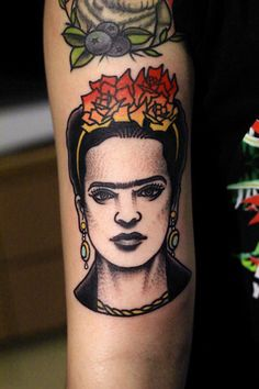 Seleção de tatuagens inspiradas em Frida Kahlo | Estilo