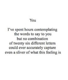 You ♡