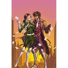The path of romance rarely runs smoothly for the X-Men, and that goes double for mutantkind's most ill-fated couple: Gambit and Rogue! Th...
