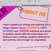 How to Create Your Own Unique Inforgraphic Resume – Tutorial Professional Resume, Professional Development, Crisp, Create Your Own, Thats Not My, Positivity, Graphic Design, Writing, Unique