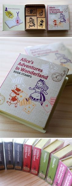 Stamp Alice in Wonderland