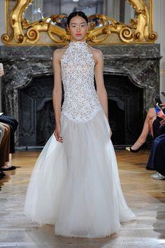 Für die schlanke Taille! Kaviar Gauche WHITE IRIS: Bridal #Couture 2016 #Hochzeitskleid #Wedding