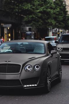 Matte Bentley Continental