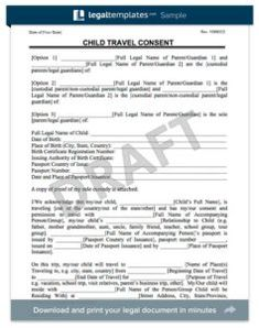 Printable Medical Release Form For Children Alluring 46 Best Child Travel Images On Pinterest  Viajes Road Trips And .