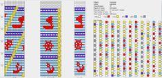 16 around tubular bead crochet rope pattern Crochet Bracelet Pattern, Crochet Beaded Bracelets, Bead Crochet Patterns, Bead Crochet Rope, Bracelet Patterns, Beading Patterns, Beaded Crochet, Brick Stitch, Plastic Canvas