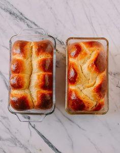 Homemade Brioche, Brioche Recipe, Brioche Bread, Bread Recipe King Arthur, Butter Pecan Cookies, Bread Shaping, Yeast Bread Recipes, Easy Bread, Coffee Recipes