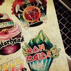 Rock bands. #tattoo #tattoos #ink