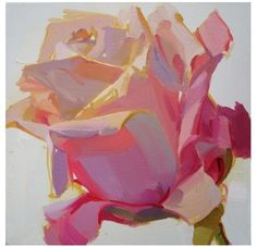 floral, pastel, glowing, radiant, light, colorful, bright by Karen O'Neil