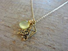 Kite necklace -- Kappa Alpha Theta