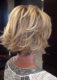 Trendy Haircut Short Bob Older Women Medium Hair Cuts, Medium Hair Styles, Curly Hair Styles, Short Styles, Haircut For Older Women, Haircuts For Fine Hair, Bob Haircuts, Haircut Men, Haircut Short