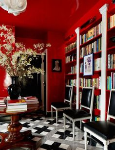 Maximalist Entry and Hall in New York, NY by Nick Olsen Inc.