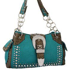 Buckle Belt Decorative Shoulder Bag