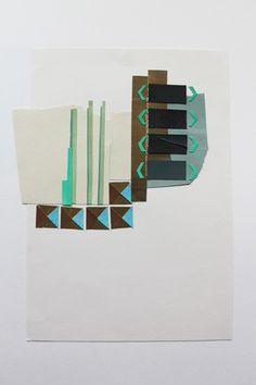 textile study by Anna Duthie