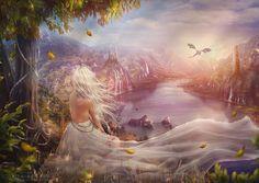 The bride for a dragon by TatyanaChe.deviantart.com on @DeviantArt