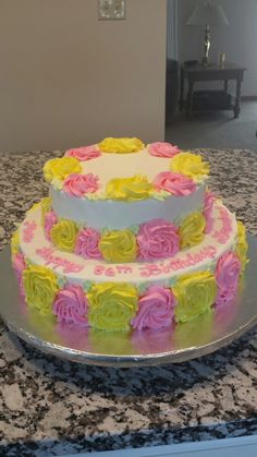Moms 86th Birthday Cake Designed By Great Grandaughter Sophia Baked Richell Mom