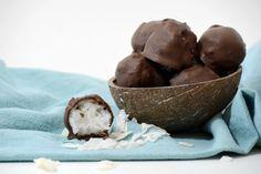 Chocolate Covered Coconut Bites