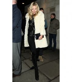 One Coat, Three Ways: The Kate Moss Edition via @WhoWhatWear