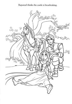 find this pin and more on syds stuff by bad wolf see more tangled coloring picture