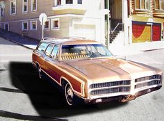 1969 Ford LTD Country Squire Wagon